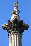 Nelson's Column in London. Royalty Free Stock Photography