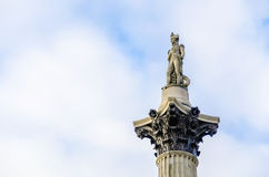 Nelson's Column in London Stock Photos