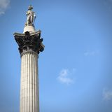 Nelson's Column Royalty Free Stock Images