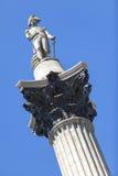 Nelson's Column, Trafalgar Square, London, England Stock Photos