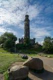 Nelson-` s Monument auf Calton-Hügel in Edinburgh, Schottland Lizenzfreie Stockfotos