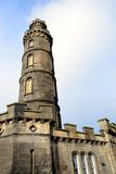 Nelson's Monument in Edinburgh. Royalty Free Stock Images