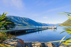 Nelson See-Nationalpark Stockfotos