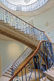 The nelson stair. Image taken of the nelson stair built by sir william chambers, 1775-1795 in somerset house, London, england stock image
