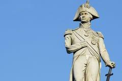 Nelson statua Obrazy Stock