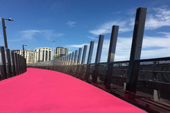 Nelson Street Cycleway in Auckland New Zealand Royalty Free Stock Photography