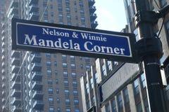 Nelson & Winnie Mandela Corner Royalty Free Stock Image