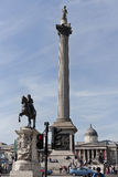 Nelsons column Stock Images