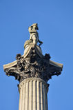 Nelsons column Royalty Free Stock Image