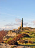 Nelsons Column on Birchen Edge Derbyshire Royalty Free Stock Images