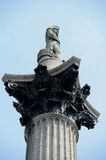 Nelsons Column Royalty Free Stock Photography