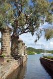 Nelsons Dockyard, Antigua and Barbuda, Caribbean. Nelsons Dockyard on English Harbor, Antigua and Barbuda, Caribbean stock photography