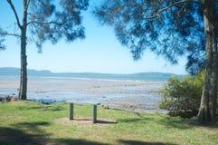 Nelsons fjärd, New South Wales, Australien Royaltyfria Foton