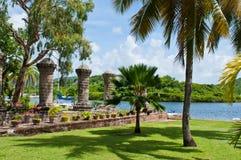 Nelsons varv i Antigua royaltyfri fotografi