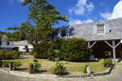 Nelsons varv i Antigua som är karibisk Royaltyfri Bild