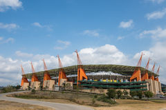 Nelspruit Mbombela Stadium South Africa. Nelspruit Mbombela world cup Stadium South Africa Stock Photography