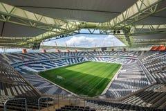 Nelspruitmbombela stadium Zuid-Afrika Stock Afbeelding