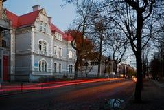 Neman, Kaliningrad region dom na brzeg rzeki Obrazy Royalty Free