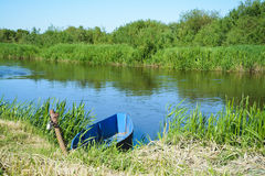 Neman river Stock Images