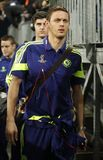 Nemanja Matić iFC Schalke v FC Chelsea 8eme Final Champion League Royalty Free Stock Photos