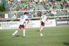 Nemanja Vukovic of the Republic FC Stock Images