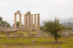 Nemea Ancient Site Royalty Free Stock Image