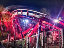 Nemesis at Alton Towers Royalty Free Stock Photography