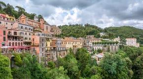 Nemi, de Provincie van Rome, Lazio, Italië Royalty-vrije Stock Afbeelding