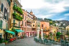 Nemi, provincia di Roma, Lazio, Italia fotografie stock libere da diritti