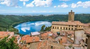 Nemi, Rom-Provinz, Lazio, Italien Stockfotos