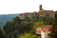 Nemi town. Lazio region. Italy Royalty Free Stock Photo