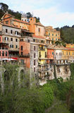 Nemi town. Lazio region. Italy Royalty Free Stock Photos