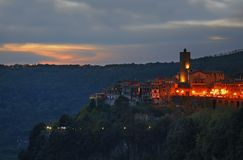 Nemi town. Lazio region. Italy Stock Photos