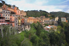 Nemi town. Lazio region. Italy Stock Photography