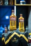 Nemiroff-Honigpfeffer würzte Wodka auf internationaler Stangenshow des Barometers lizenzfreie stockfotografie