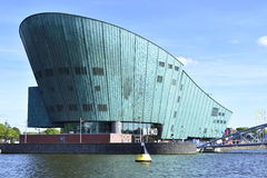 NEMO阿姆斯特丹的科学中心 免版税库存照片