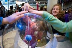 NEMO - Centro de la ciencia en Amsterdam, Holanda Imagen de archivo libre de regalías