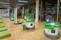NEMO est musée de science dans l'aéroport de Schiphol Amsterdam, Hollandes Photo libre de droits