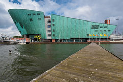 The Nemo Museum in Amsterdam Stock Photo