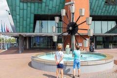Nemo Museum. Amsterdam. Royalty Free Stock Photos
