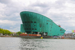 The Nemo Museum in Amsterdam. Royalty Free Stock Photo