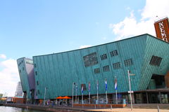 NEMO Museum - Amsterdam - Países Bajos Fotos de archivo libres de regalías