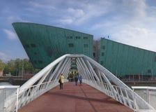 Nemo muzeum w Amsterdam, holandie Fotografia Royalty Free
