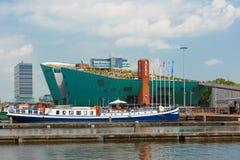 Nemo muzeum w Amsterdam, holandie Zdjęcia Royalty Free