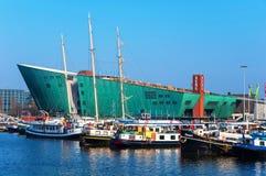 Nemo nauki centrum w Amsterdam, holandie Obraz Royalty Free