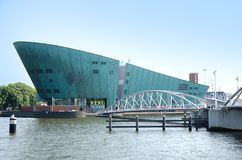 Nemo Science Center. Amsterdam Royalty Free Stock Photography