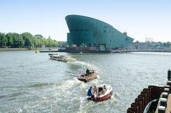 Nemo Science Center. Amsterdam Royalty Free Stock Photo