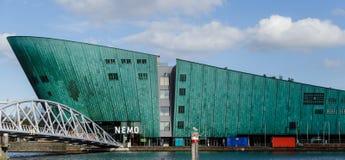 NEMO Science Museum, Amsterdam, die Niederlande stockbild