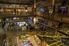 Nemo Science Museum interno fotografie stock libere da diritti