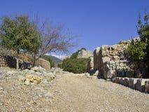 Nemroda kasztel w Galilee, Izrael Obrazy Stock